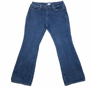 NOBO Womens Mid Rise Bootcut Jeans Size 17